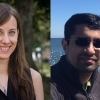 Heashots of Shaina Rogstad and Dr. Ambarish Karmalkar